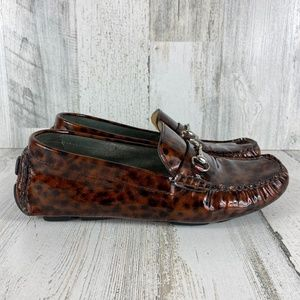 COLE HAAN LEOPARD PRINT LOAFER